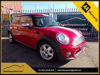 USED 2010 60 MINI HATCH ONE 1.6 ONE 3d 98 BHP AIR CON 55,000 MILES  PART EXCHANGE AVAILABLE / ALL CARDS / FINANCE AVAILABLE