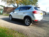 USED 2009 59 FORD KUGA 2.0 ZETEC TDCI AWD 5d 134 BHP FANTASTIC CONDITION FORD KUGA. FULL FORD HISTORY. BLUETOOTH. PARKING SENSORS. PRIVACY GLASS