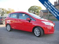 USED 2015 65 FORD B-MAX 1.6 TITANIUM 5d AUTO 104 BHP LOW MILES, 2 KEYS, ONE FORMER KEEPER, FULL FORD MAIN DEALER SERVICE HISTORY