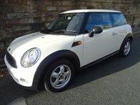 2009 MINI HATCH ONE 1.4 ONE 3d 94 BHP £3300.00