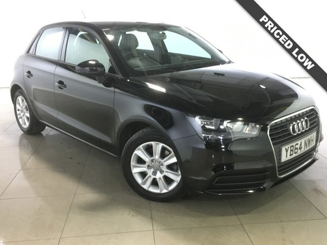 View our 2015 64 AUDI A1 1.6 SPORTBACK TDI SE 5d 105 BHP