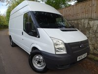 2013 FORD TRANSIT 2.2 350 H/R 1d 99 BHP LWB FWD HIGH ROOF £8995.00
