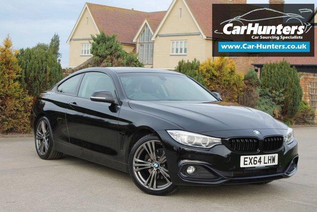 2014 64 BMW 4 SERIES 2.0 420D SPORT 2d 181 BHP