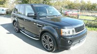 USED 2011 61 LAND ROVER RANGE ROVER SPORT 3.0 TDV6 STORMER EDITION 5d AUTO 245 BHP