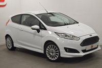 USED 2013 63 FORD FIESTA 1.5 TITANIUM TDCI 3d 74 BHP LOW MILES + HISTORY + PRIVACY GLASS
