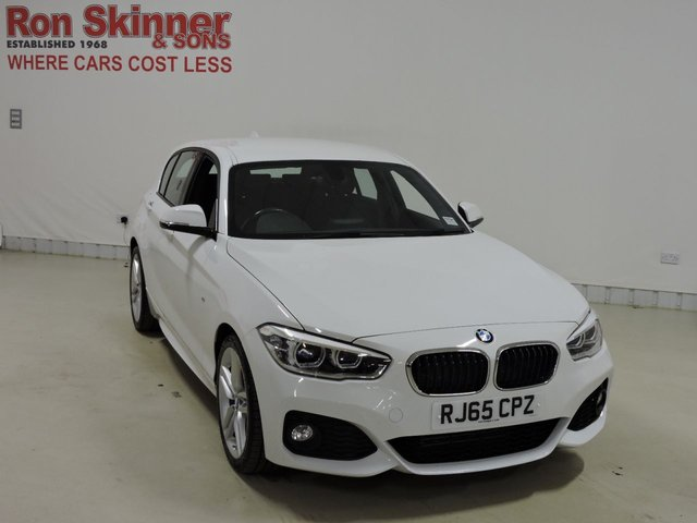 View our 2015 65 BMW 1 SERIES 2.0 118D M SPORT 5d 147 BHP