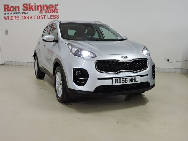 View our 2016 66 KIA SPORTAGE (48) 1.7 CRDI 2 ISG 5d 114 BHP