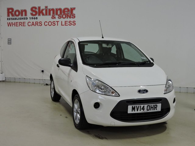View our 2014 14 FORD KA 1.2 STUDIO PLUS 3d 69 BHP