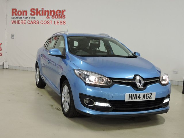 View our 2014 14 RENAULT MEGANE 1.5 DYNAMIQUE TOMTOM ENERGY DCI S/S 5d 110 BHP