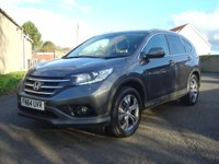 USED 2014 64 HONDA CR-V 2.2 I-DTEC SR 5d 148 BHP ///    FACELIFT MODEL  ///