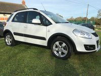2011 SUZUKI SX4 2.0 SZ5 DDIS 4x4 white 34000 miles fsh 2 owners low tax  £5995.00