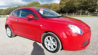 USED 2010 10 ALFA ROMEO MITO 1.4 LUSSO MULTIAIR TB 3d 135 BHP VEHICLE SPEC : 2 X KEYS, AIR-CONDITIONING, CD-PLAYER, REMOTE LOCKING, ELECTRIC WINDOWS, ALLOY-WHEELS, ELECTRIC MIRRORS, SAME DAY DRIVE AWAY FINANCE