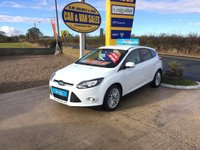 2011 FORD FOCUS ZETEC 1.6 5 DOOR **ONE OWNER**FFSH**ONLY 48,000 MILES** £5995.00