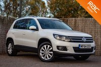 USED 2014 64 VOLKSWAGEN TIGUAN 2.0 MATCH TDI BLUEMOTION TECH 4MOTION DSG 5d AUTO 139 BHP £0 DEPOSIT BUY NOW PAY LATER - FULL S/H - FULL NAVIGATION