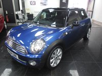 2008 MINI HATCH COOPER 1.6 COOPER 3d 118 BHP