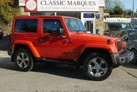 2015 JEEP WRANGLER 2.8 CRD OVERLAND 2d AUTO 197 BHP £25950.00