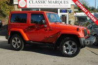 USED 2015 65 JEEP WRANGLER 2.8 CRD OVERLAND 2d AUTO 197 BHP