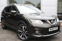 USED 2014 64 NISSAN X-TRAIL 1.6 DCI TEKNA 5d 130 BHP PAN ROOF / SATNAV / HEATED LEATHER / LANE ASSIST + MUCH MORE