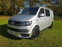2017 VOLKSWAGEN TRANSPORTER T6 2.0 T32 TDI FACTORY KOMBI BMT AUTO DSG 4d 150 BHP SPORTLINE STYLED AIR CON 6 SEATS £23995.00