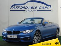 USED 2015 15 BMW 4 SERIES 2.0 420D M SPORT 2d 181 BHP