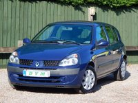 USED 2002 02 RENAULT CLIO 1.1 EXPRESSION 16V 5d 75 BHP NEW MOT ON PURCHASE