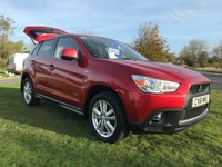 2011 MITSUBISHI ASX 1.8 DI-D 3 4x4 84000 miles fsh very clean well looked after car  £6495.00