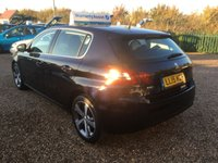 USED 2015 15 PEUGEOT 308 1.2 PURETECH S/S ALLURE 5d 110 BHP FULLY AA INSPECTED - FINANCE AVAILABLE