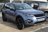 2017 LAND ROVER DISCOVERY SPORT 2.0 TD4 HSE BLACK 5d AUTO 180 BHP £30595.00