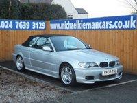 2005 BMW 3 SERIES 2.0 318CI SPORT 2d 141 BHP £3995.00