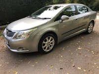 USED 2009 59 TOYOTA AVENSIS 1.8 TR VALVEMATIC 4d AUTO 145 BHP