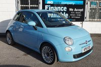 2011 FIAT 500 0.9 SPORT 3d 85 BHP 2 OWNERS-5 SERVICE STAMPS £3890.00