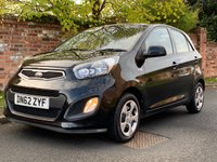 USED 2013 62 KIA PICANTO 1.0 1 5d 68 BHP 2 OWNERS, FULL SERVICE HISTORY, MOT NOV 19.  £0 ROAD TAX, EXCELLENT CONDITION, E/WINDOWS, R/LOCKING, FREE  WARRANTY, FINANCE AVAILABLE, HPI CLEAR, PART EXCHANGE WELCOME,