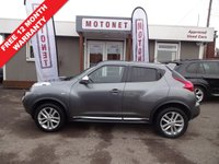 USED 2012 12 NISSAN JUKE 1.5 ACENTA SPORT DCI 5DR DIESEL 110 BHP ++++BUY NOW PAY NEXT JANUARY 2019++