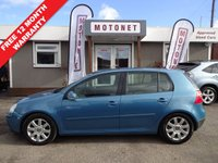 USED 2006 06 VOLKSWAGEN GOLF 2.0 GT TDI 5DR 140 BHP ++++BUY NOW PAY NEXT JANUARY 2019++