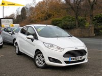 USED 2015 65 FORD FIESTA 1.5 TITANIUM ECONETIC TDCI 5d 94 BHP GREAT SPEC CAR WITH LOW MILEAGE, FACTORY FITTED SAT NAV, BLUETOOTH, CRUISE CONTROL, CLIMATE CONTROL, AUTOMATIC LIGHTS/WIPERS