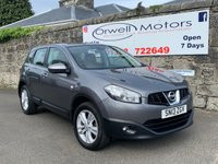 USED 2013 13 NISSAN QASHQAI 1.6 ACENTA 5d 117 BHP LOW MILEAGE+CLIMATE CONTROL+CRUISE CONTROL+BLUETOOTH+FINANCE AVAILABLE