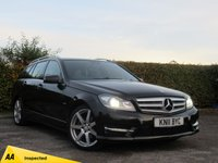 USED 2011 11 MERCEDES-BENZ C CLASS 2.1 C250 CDI BLUEEFFICIENCY SPORT 5d * ECONOMICAL * FULL LEATHER INTERIOR *