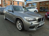 USED 2011 61 BMW X1 2.0 XDRIVE20D M SPORT 5d AUTO 174 BHP LOW MILES, FULL LEATHER