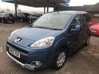 USED 2012 62 PEUGEOT PARTNER 1.6 TEPEE S HDI 5d 92 BHP 4 SERVICE STAMPS,