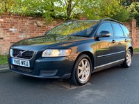 USED 2010 10 VOLVO V50 1.6 D DRIVE S 5d 109 BHP 3 OWNERS, EXCELLENT SERVICE HISTORY, MOT OCT 19.  £20 ROAD TAX, FULLY PREPARED, EXCELLENT CONDITION,  ALLOYS, CLIMATE, E/WINDOWS, R/LOCKING, FREE  WARRANTY, FINANCE AVAILABLE, HPI CLEAR, PART EXCHANGE WELCOME,