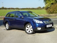 USED 2009 59 SUBARU OUTBACK 2.5 I SE NAVPLUS 5d AUTO 167 BHP TOP SPEC, FULL SERVICE HISTORY, DESIRABLE VEHICLE.