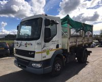 USED 2013 63 DAF TRUCKS LF FA LF45.160 7.5 TONNE HOOKLIFT WITH DE-MOUNT BODY