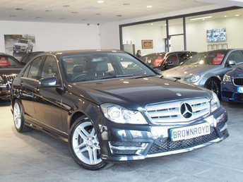 2013 MERCEDES-BENZ C CLASS 2.1 C220 CDI BLUEEFFICIENCY AMG SPORT 4d AUTO 168 BHP £10990.00