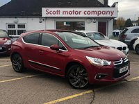 USED 2011 61 CITROEN DS4 1.6 THP D Sport 5 door 197 BHP
