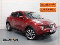 2013 NISSAN JUKE 1.6 TEKNA 5d AUTO 117 BHP £7921.00
