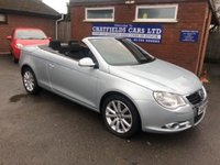 USED 2008 08 VOLKSWAGEN EOS 2.0 TDI 2d 138 BHP CONVERTIBLE CABRIOLET, ONE LADY OWNER, ONLY 36K MILES