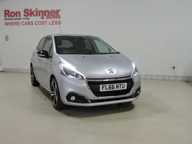 View our 2016 66 PEUGEOT 208 1.6 BLUE HDI S/S GT LINE 5d 120 BHP