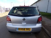 USED 2008 58 VOLKSWAGEN POLO 1.4 MATCH 5d 79 BHP AIR CON 1 OWNER ONLY 22,000 MILES PART EXCHANGE AVAILABLE / ALL CARDS / FINANCE AVAILABLE