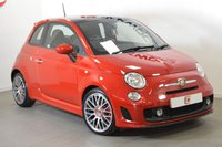 USED 2015 15 ABARTH 500 1.4 ABARTH 3d AUTO 140 BHP PAN ROOF + SERVICE HISTORY + 2 KEYS + FULL ABARTH SPEC