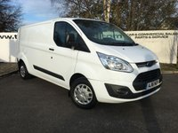 USED 2016 16 FORD TRANSIT CUSTOM 290 2.2 125 BHP TREND L2 H1 **CHOICE FROM 70 VANS**